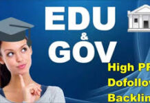 .edu and .Gov Backlinks websites lists